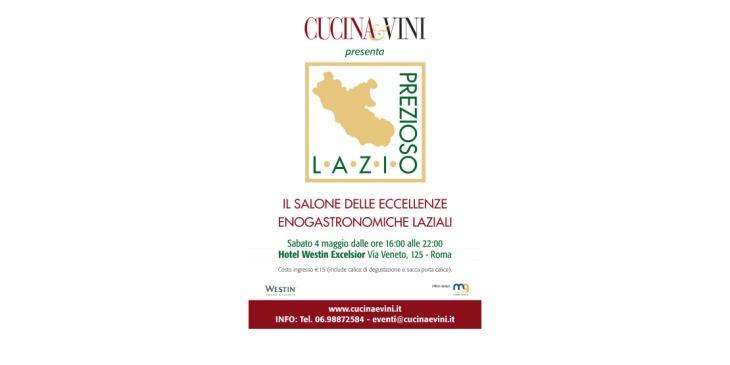 locandina Lazio prezioso