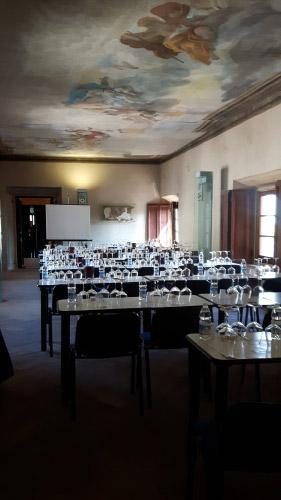 Sala degustazione all'Orcia Wine Festival