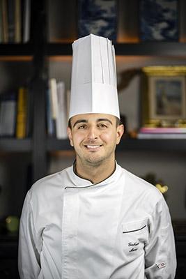 Gabriele Muro, chef del ristorante Adelaide