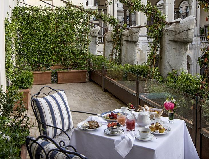 Hotel Vilon-colazione in terrazza