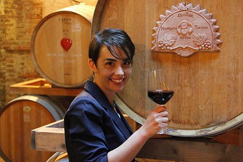 Violante Gardini, Presidente del Movimento Turismo del Vino Toscana