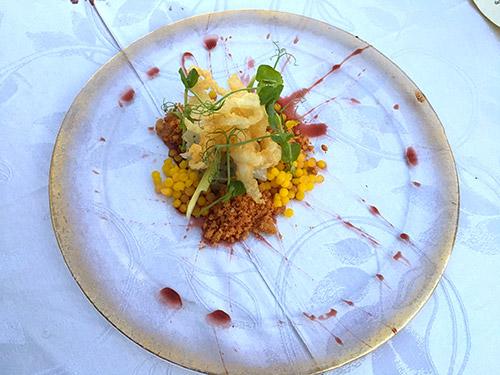 Il piatto dedicato dallo chef Sinisgalli a Matera