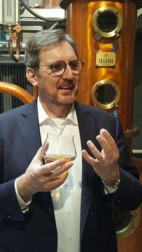Mirko Scarabello, presidente dell'Istituto Tutela Grappa del Trentino