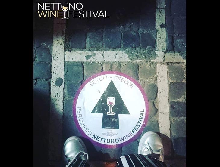 Indicazioni del percorso al Nettuno Wine Festival