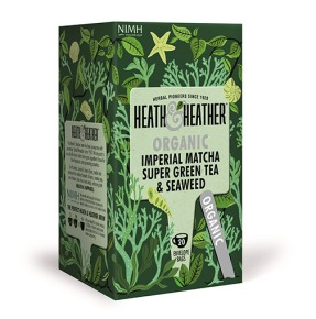Scatola dell'Imperial Matcha Super Green Tea & Seaweed