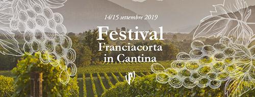 La locandina del Festival Franciacorta in Cantina