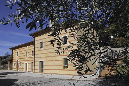 La sede del Consorzio olio Garda DOP a Cavaion Veronese