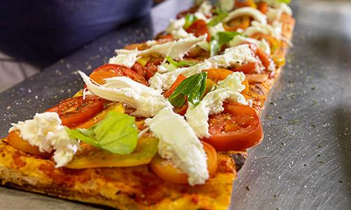 Pizza romana in teglia