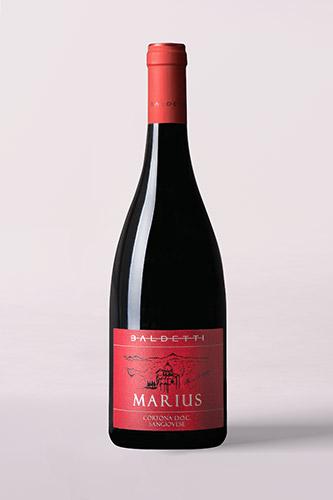 Bottiglia di Marius Cortona Doc