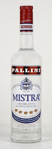 Bottiglia di Mistra' Pallini