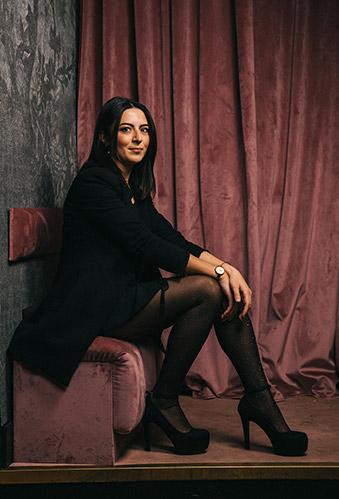 Sabina Yausheva, barlady al Julep Bar dell'Hotel de la Ville