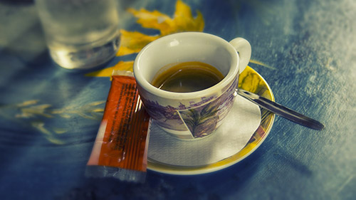 Tazzina di caffè espresso