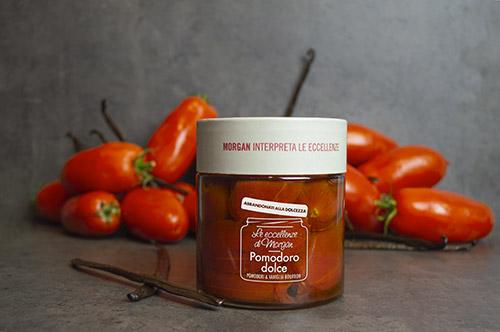 Vasetto di Pomodoro dolce con Vaniglia Bourbon
