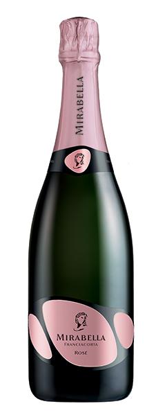 Bottiglia del premiato Rosé Mirabella