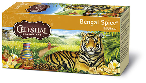 Confezione del Bengal Spice Celestial Seasonings