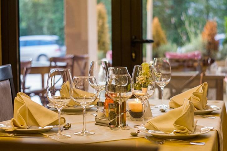 Interno di ristorante