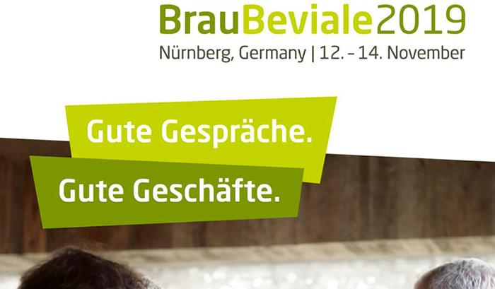 La locandina del BrauBeviale di Norimberga 2019