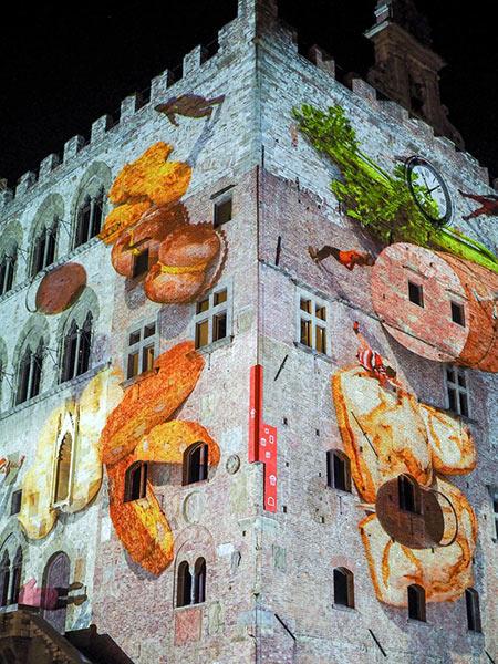 Il Palazzo Pretorio di Prato durante EatPrato