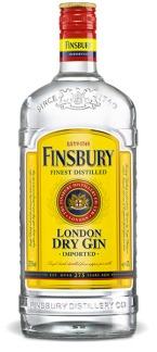 Bottiglia di Finsbury London Dry Gin