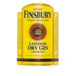 FINSBURY LONDON DRY GIN Etichetta