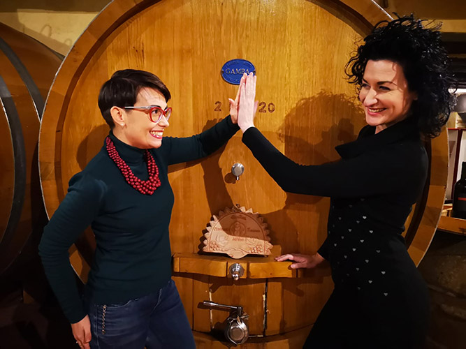 Violante Gardini e Emanuela Tamburini