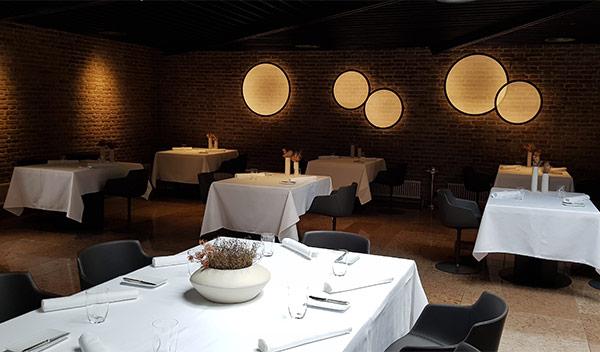 Interno del ristorante Gellius di Oderzo (in provincia di Treviso)