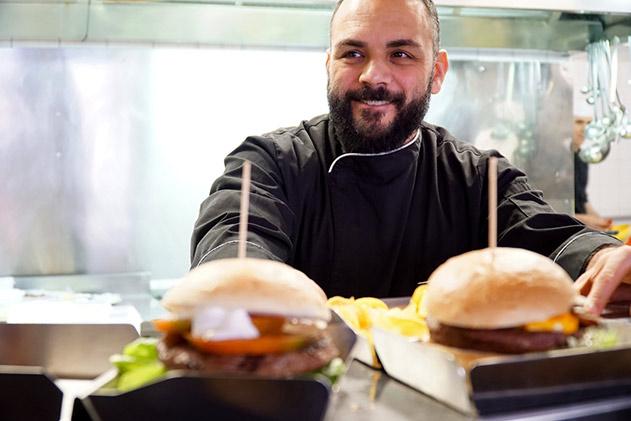 Alessandro Usai, chef del B.Ro - Birra Burger Roma
