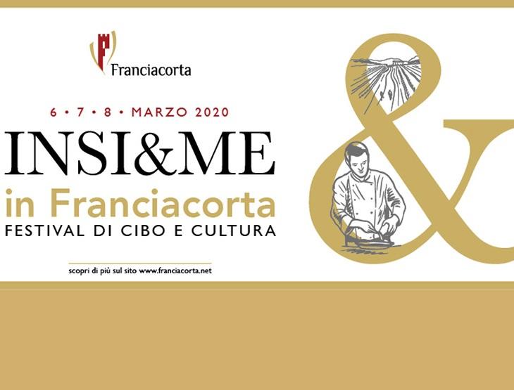 Il banner del Festival Insi&me in Franciacorta
