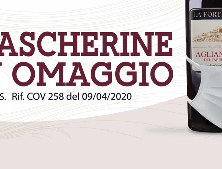 CON I VINI LA FORTEZZA IN OMAGGIO LE MASCHERINE