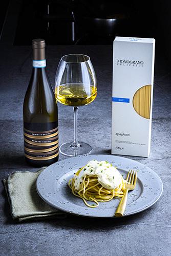 Il piatto dello chef Fabrizio Albini
