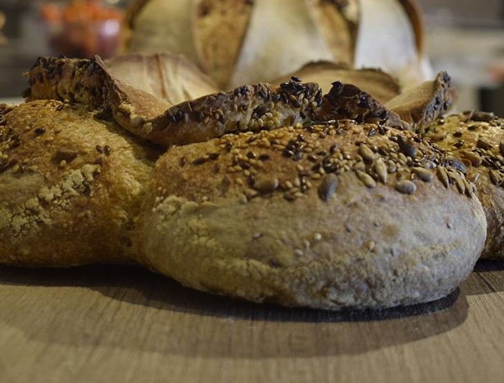Il pane ai cereali e farina semintegrale della Verdiani