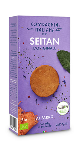 Confezione di Seitan L'Originale al Farro di Compagnia Italiana