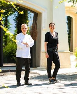 Oliwer Glowig e Rossella Macchia, General Manager di Poggio Le Volpi