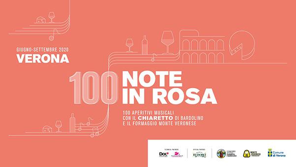 La locandina di Note in Rosa