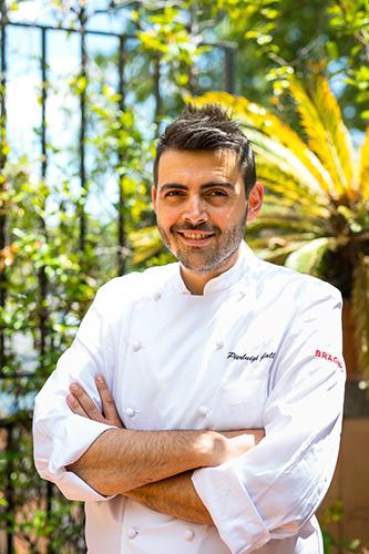 Lo chef del Giulia Restaurant Pierluigi Gallo