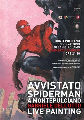 locandina Avvistato Spiderman