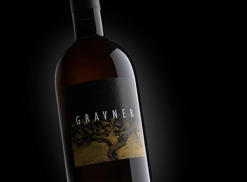 Bottiglia di vino Gravner