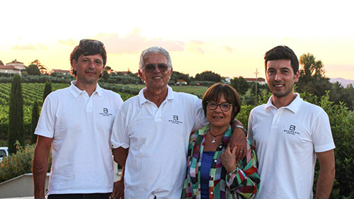 La famiglia Baldetti al completo