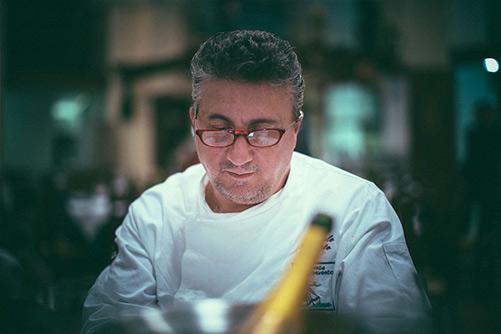 Lo chef Pasquale Torrente del Ristorante Al Convento di Cetara (Sa)