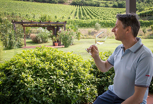Gianni Tessari, il suo vino e le sue vigne