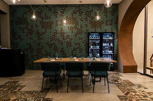 Interno del ristorante Terrammare di Milano