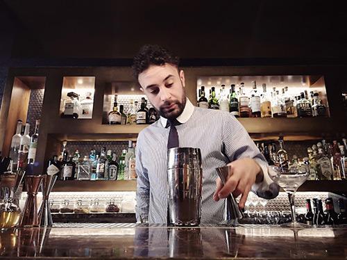 Vincenzo Tropea, bartender del Ristorante Pierluigi a Roma