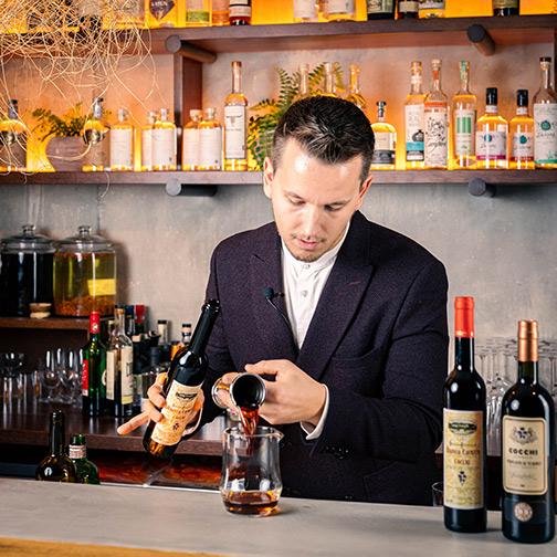Il cocktail Alba - Torino di Maxim Schulte