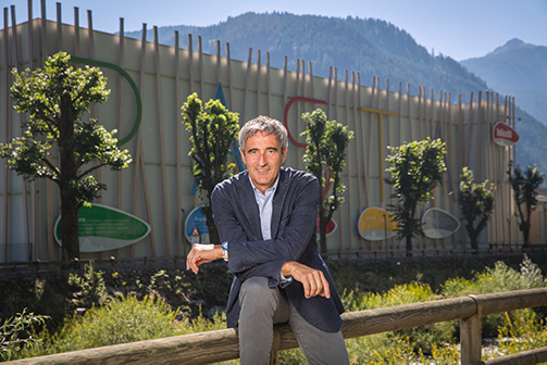 Riccardo Felicetti, CEO del Pastificio Felicetti