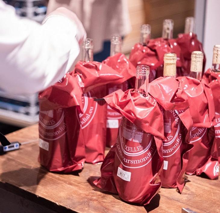 Bottiglie al Concours Mondial de Bruxelles