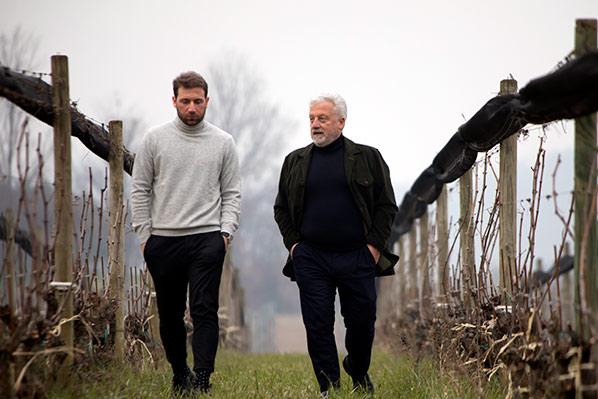 Carlo Alberto e Ruggero Brunori
