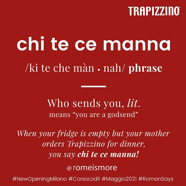 Lezioni di romanesco da Trapizzino