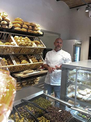 Walter De Martin all'interno di Cookery Rebibbia